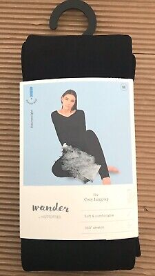 NEW Wander Hottotties The Cozy Legging Size Medium Soft Comfortable Black