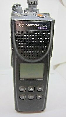 Motorola Xts 3000 H09ucf9pw7bn 800mhz Two Way Radio