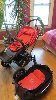 Bugaboo Chameleon Stroller used Red all original