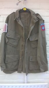 WW2 US 82nd Airborne Jump Jacket 42