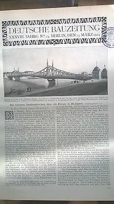 1904 24 Budapest Franz Josef Brücke