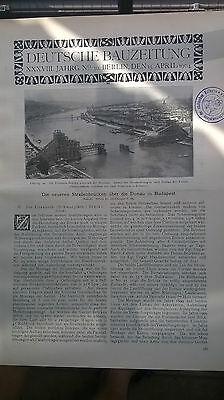 1904 30 Ungarn Budapest Elisabethbrücke