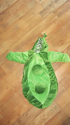 Halloween PEA POD costume ADORABLE!! size 0-6 mo  - Pea Costume