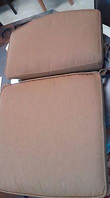 Hanamint Newport Deep Seating Cushion Set Club Chair Cushion Canvas Teak 5488 ()