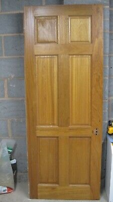 Reclaimed pine solid wood softwood Internal doors panelled 6 Panel 30