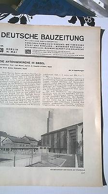 1928 39 Basel Antoniuskirche