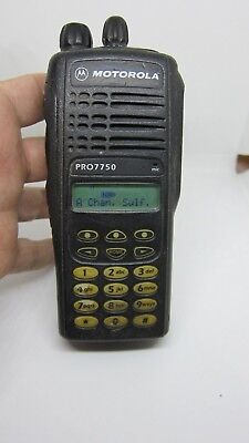 Motorola Pro7750 Uhf Lah25uch6fc6an Two Way Radio 16 Channel
