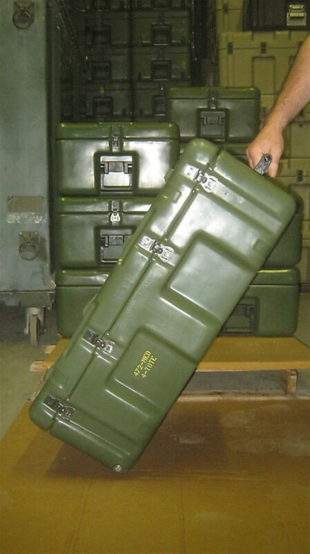 33x21x13 Hardigg Pelican Medical Chest 5 Totes w Wheels Weather tight First Aid