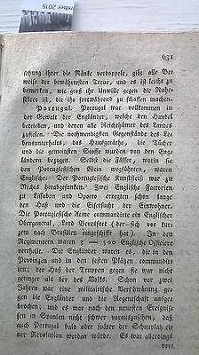 1820 40 Revolution in Portugal / Fleischer Tote durch Wurst Teil 2