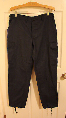Adult's Blue Rothco Military Division Cargo BDU Pants Size Medium Long F ()