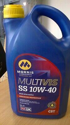 Morris Lubricants Multivis CST SS 10W40 Semi-Synthetic Motor Engine Oil 5LT