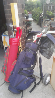 This golf club are in good condition two set's