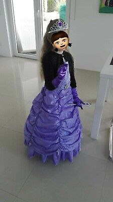süßes Prinzessin Kostüm Sofia die Erste Größe 110 *WIE - Süße Prinzessin Kostüm