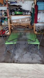 Patio table and chairs for sale