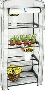 Portable greenhouse 4 tier