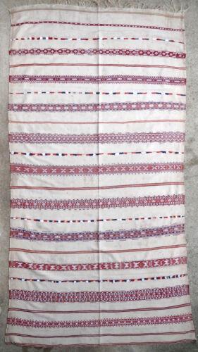 Textile weave antique oriental tribal Berber Moroccan Morocco 1950