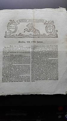 1761 15 7jährige Krieg / Österreich Brillon  Moringen Nordheim Crivitz
