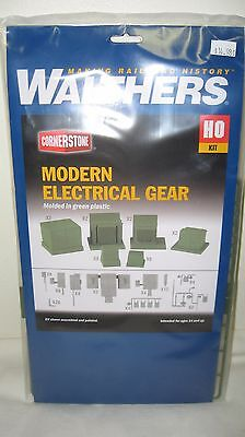 Walthers Cornerstone HO Scale Modern Electrical Gear Kit #933-4075 New