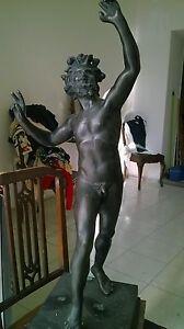 Fauno danzante scultura in bronzo statua sculpture skulptur - Italia - Fauno danzante scultura in bronzo statua sculpture skulptur - Italia