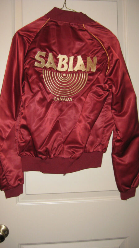 Vintage 80s Sabian SatinTour Jacket