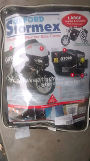 Motorcycle cover.