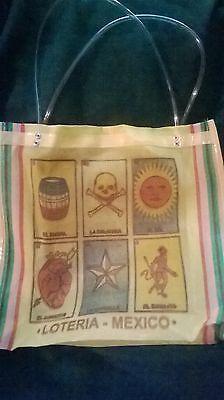 LOTERIA VINYL MESH TOTE BAG                                                 (Vinyl Tote Bags)