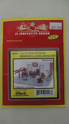 JL Innovative Design HO Scale Gas Station Interior Equipment & Tool Detail #498