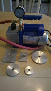 Electric Vacuum Tester Valve Seat for Cylinder Head Nt Goodson, Sioux,Van Norman