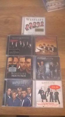 Westlife - A Collection Of 7 CD Albums By Westlife