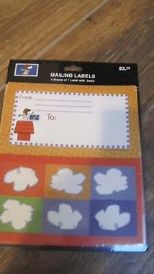 4500x Labels 8.5x5.5 Shipping Mailing Half Sheet Self Adhesive Blank Labels USPS