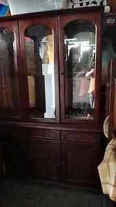 Noblett wall ynit display cabinet Moorabbin Kingston Area Preview