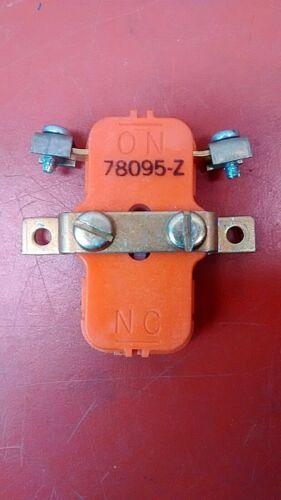 RELIANCE 78095-Z AUX CONTACTOR N.O. - USED - 30 DAY WARRANTY