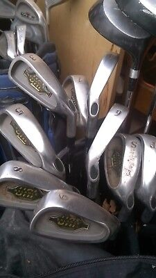 Set of 12 Golf Gear Balance, Irons 3-SW & 3 Woods Reg Steel Callaway Clones GC