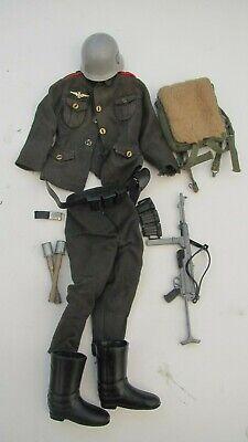 Vintage Action Man Uniform 1973 GERMAN STORMTROOPER  - COMPLETE