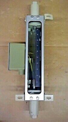 Brooks Rotameter 1110cj36cegafm 5.70 Scfh Gas Scale 0-100