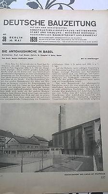 1928 39 Basel Antoniuskirche 2