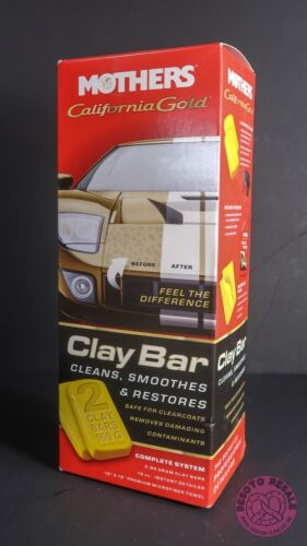 BRAND NEW ~ Mothers 07240 California Gold Clay Bar System