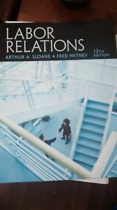 Labour relations 12th ed