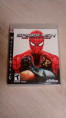 Spider-Man Web of Shadows PS3 Playstation 3 Complete