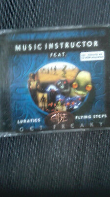 music instructor single  cd  get  freaky