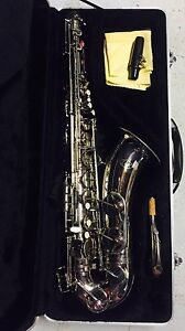 Rarely used tenor saxophone  - silver Bardon Brisbane North West Preview