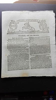 1761 194 7jährige Krieg / Frankreich England Regensburg von Dieterichs