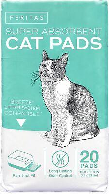 Peritas Cat Pads Generic Refill for Breeze Tidy Cat Litter System 16.9