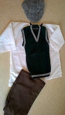Victorian-WW2-1930s-1940s-Village-Costume-Boys-schools-history-time age  9-11 - Village Boy Kostüm