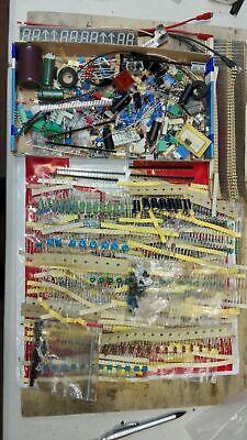 Lotto Stock Kit 100 Componenti Elettronici Resistenze Transistor integrati LED