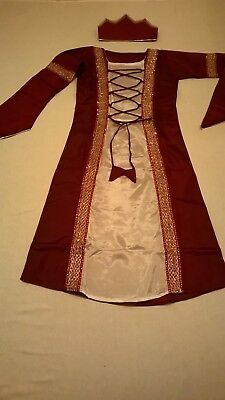 Girls Viking Warrior Saxon Victorian Tudor Medieval king Richard the 3rd Costume