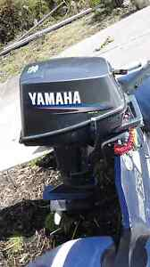 Yamaha 8hp S/shaft outboard. Cambridge Clarence Area Preview