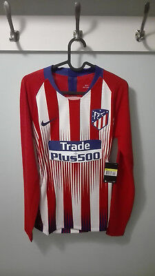 103a7c137 CAMISETA SHIRT ATLETICO MADRID PLAYER ISSUE MATCH UN WORN 18/19 SIZE M