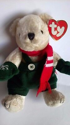 TY ATTIC TREASURES COLLECTION WEATHERBY JOINTED TEDDY BEAR COLD HANDS WARM HANDS