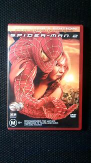 Spider-Man 2 2DVD set - Tobey Maguire, Kirsten Dunst Dulwich Hill Marrickville Area Preview